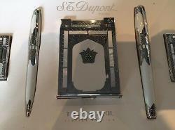 S. T. Dupont 2002 Taj Mahal Limited Edition 5 Piece Set Rare
