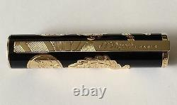 S. T. Dupont 2012 Limited Edition Dragon Large Fountain Pen, Article # 141855, Nib