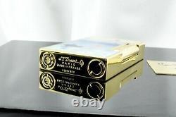 S. T. Dupont Accendino Lighter Feuerzeug Ligne 2 Oro Edition Limitée Monet 016349
