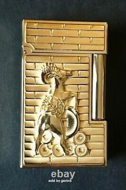S. T. Dupont Année De La Chèvre Édition Limitée Lighter # 082/288, 016297, Nib