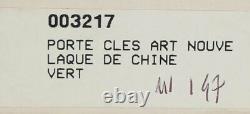 S. T. Dupont Art Nouveau Limited Edition Porte-clés #147/1000 (1993) New In Box