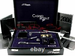 S. T. Dupont Casino Royal Set Koffer James Bond 007 Limited Edition /107 Neu