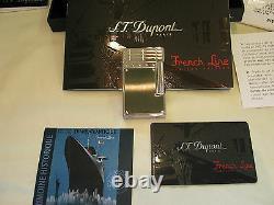 S. T. Dupont Edition Limitée. 2007 Français Line Feuerzeug Linie 2 Fabrikneu