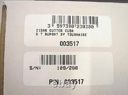 S. T. Dupont Edition Limitée Cuba Libre Prestige Cigar Cutter (003517)