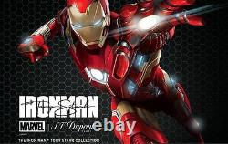 S. T. Dupont Edition Limitée Iron Man Defi Ball Point Pen, 405720, Nouveau En Boîte