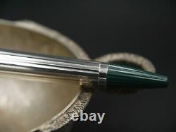 S. T. Dupont Edition Limitée Ss925 Silver Sterling Point Pristine Condition