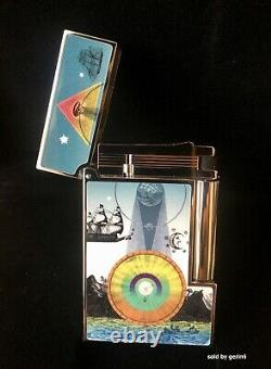 S. T. Dupont Edition Limitée The Row Eye Line 2 Lighter 016383 (16383) New In Box