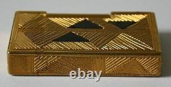 S. T. Dupont Feuerzeug Afrika / Africa Linie 2 Limited Edition 2001 Briquet