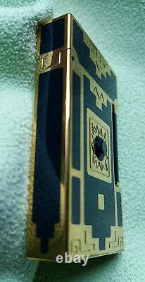 S. T. Dupont Feuerzeug Lighter Nuevo Mundo Edition Limitée 1998 Original