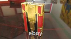 S. T. Dupont Feuerzeug Linie 2 Groß Art Deco Edition Limitée Feiner Zustand