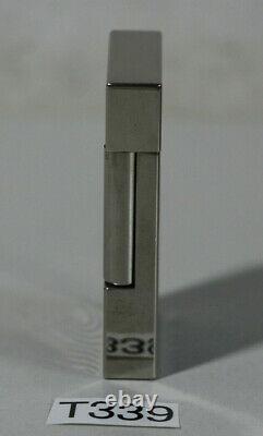 S. T. Dupont Feuerzeug Neptune Linge 2 Ligne 2 Édition Limitée #specimen (t339-r80)
