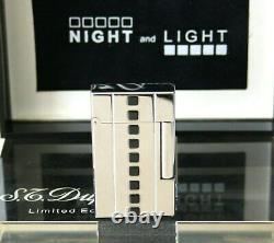 S. T. Dupont Feuerzeug Night Et Light Onyx L2 Limited Edition 2000 Case Lighter