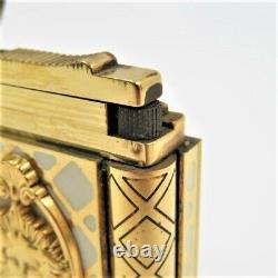 S. T. Dupont Gatsby 18k Lighter Versailles Édition Limitée Très Rare