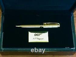 S. T. Dupont James Bond Limited Edition 007 Ballpoint Pen, 415047, Nouveau In Box