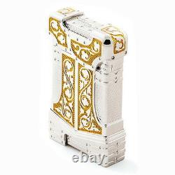 S. T. Dupont Lighter White Knight Limited Edition New In Box