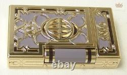 S. T Dupont Limited Edition New York 5th Avenue Lacquer Ligne 2 Lighter Splendid