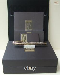 S. T Dupont Limited Edition Olympio X-large New York 5th Avenue Fountain Pen Rare
