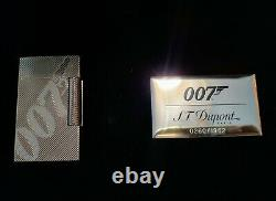 S. T. Dupont New 007 Limited Edition Collection Lighter D'or #0260/1962 (016168)