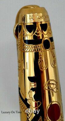 S. T. Dupont Pharaoh Limited Edition Fountain Pen Édition Limitée De 2575 Pièces