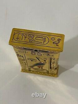 S. T. Dupont Pharaon Edition Limitée Stylo D'éclairage Et De Fontaine