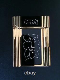 S. T. Dupont Picasso Limited Edition Pocket Lighter Nr 212/6000