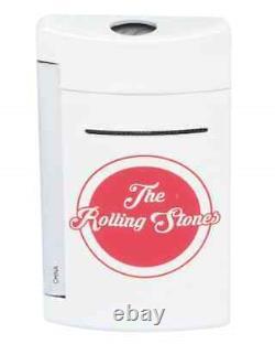 S. T. Dupont Rolling Stones Limited Edition Blanc Minijet Lighter 010109
