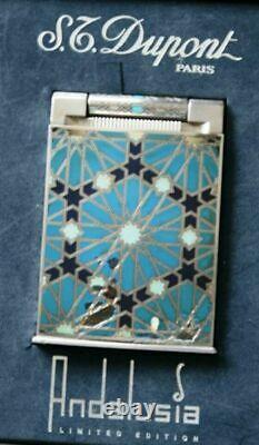 S. T. Dupont Tischfeuerzeug Table Lighter Andalousie Edition Limitée 2003