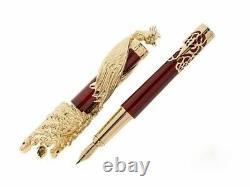 S. T. Dupont Tournaire Phoenix Fountain Pen, Édition Limitée, 241053, New In Box