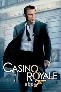 St Dupont 007 Casino Royale James Bond Limited Edition Palladium Key Ring Nouveau