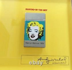 St Dupont Andy Warhol Marilyn Monroe Edition Limitée Stylo À Bille Yelo Lacquer