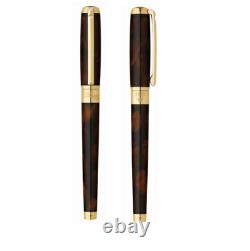 St Dupont Atelier Line D Fontaine Pen Limited Edition Brown Lacquer 410713 1380 $