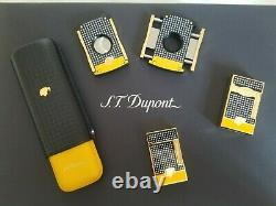 St Dupont Cohiba Limited Edition Le Grand Line 2 Lighter Black Lacquer 023110