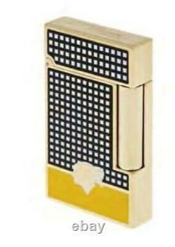 St Dupont Cohiba Limited Edition Linge Line 2 Briquet Noir Yello Laque 016110