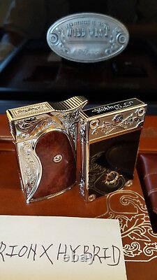 St Dupont Conquest Of Wild West Limited Edition Lighters Item #016164 & #016165