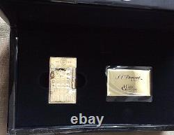St Dupont Cuba Libre Bronze And Gold Linge Line 2 Limited Edition Lighter Haute