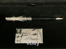 St Dupont Edition Limitée Da Vinci Vitruve Homme Stylo À Bille
