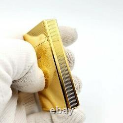 St Dupont- Edition Limitée Trinidad- Rare L2 Plaqué Or Lighter