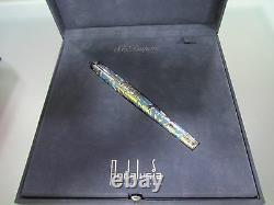St Dupont Limited Edition 252/2500 Andalousie Light Blue Fountain Pen. Plume