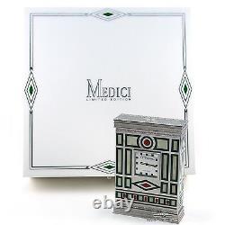 St Dupont Medici Edition Limitée Horloge De Table Mint