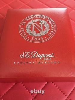 St Dupont Napoléon Bonaparte Linge 2 Ligne 2 Limited Edition Platinum Lighter