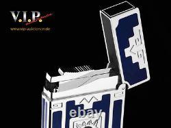 St. Dupont Nuevo Mundo Line 2 Feuerzeug Lighter Edition Limitée Palladium Briquet