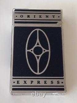St Dupont Orient Express Linge Line 2 Limited Edition Palladium Lighter Laquer