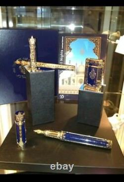 St Dupont Prestige 1001 Nights Collector 3 Piece Limited Edition Rollerball Pen