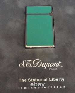 St Dupont Statue Of Liberty Ligne Ligne 2 Édition Limitée Briquet #240 De 350