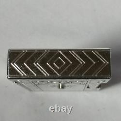 St Dupont Taj Mahal Edition Limitée Gatsby Platinum Et Mother-of-pearl Lighter
