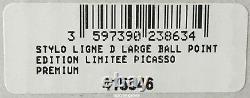 Stylo À Bille S. T. Dupont Picasso Black Laquer, Édition Limitée, 415046, Nib