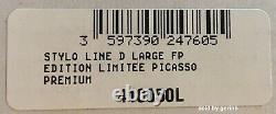 Stylo De Fontaine S. T. Dupont Picasso Peace Dove, Édition Limitée, 410050l Nouveauté En Boîte